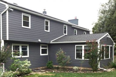 vinyl siding to fiber cement siding 1 before and after 1 5 pictures project gallery smuckers exteriors home improvement contractors general contractors lancaster berks chester pa