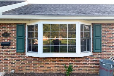 bay window replacements before and after 1 5 pictures project gallery smuckers exteriors home improvement contractors general contractors lancaster berks chester pa