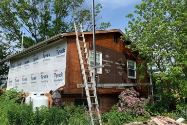 home improvement contractors in lancaster county ephrata pa installing siding