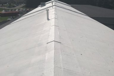 amish contractors in pa commercial roofing job roof completed