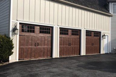 amish contractors in pa garage doors installed new