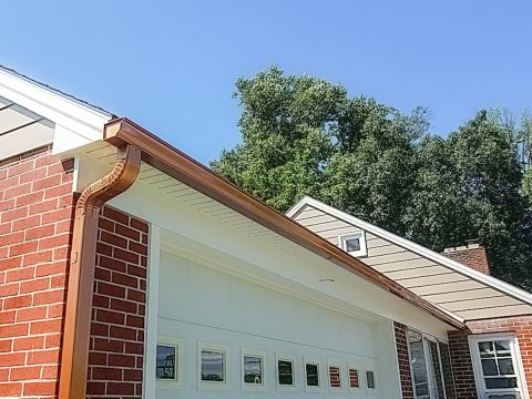 copper gutter installers lancaster berks chester counties pennsylvania pa